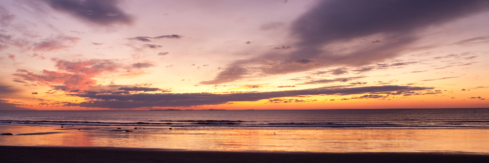 Sunrise from Rye Beach