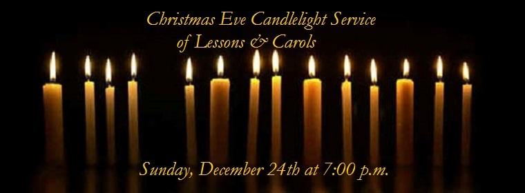 2017 Christmas Eve Candlelight Service 1