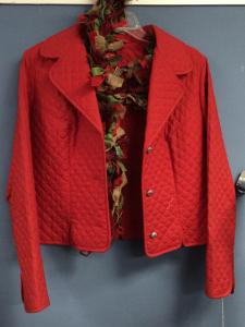 TS red jacket